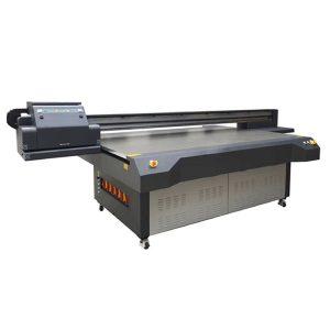 4x8 ຕີນ uv led printer flatbed ກັບ konica & ricoh print-head