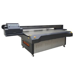 25m * 13m ຄວາມລະອຽດສູງ ricoh gen 5 digital uv flatbed glass printer