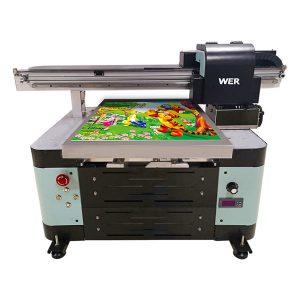 12 ສີ inkjet a2 ອັດຕະໂນມັດ tx6090 uv printer printer flatbed