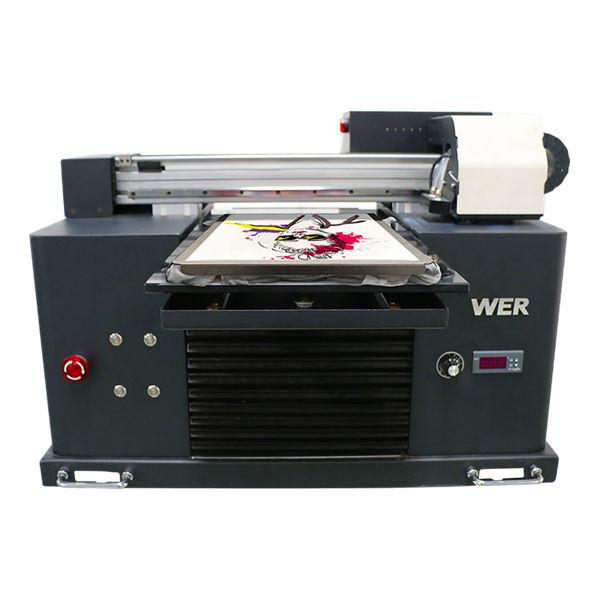 a3 ຂະຫນາດ multi-color flat flat type t-shirt dtg printer