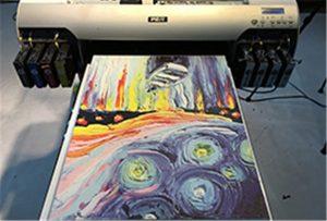 ຕົວແບບ Canvas ຈາກເຄື່ອງພິມ U2 A2 WER-EH4880UV