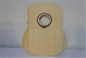 ຕົວຢ່າງ guitar ໄມ້ຈາກເຄື່ອງພິມ U2 ຂະຫນາດ A2 WER-DD4290UV
